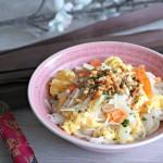 Pad Thaï végétarien au sésame