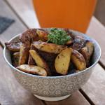 Potatoes marinées au sésame